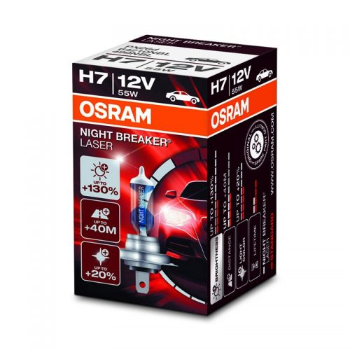 Night Breaker Laser +130% by OSRAM