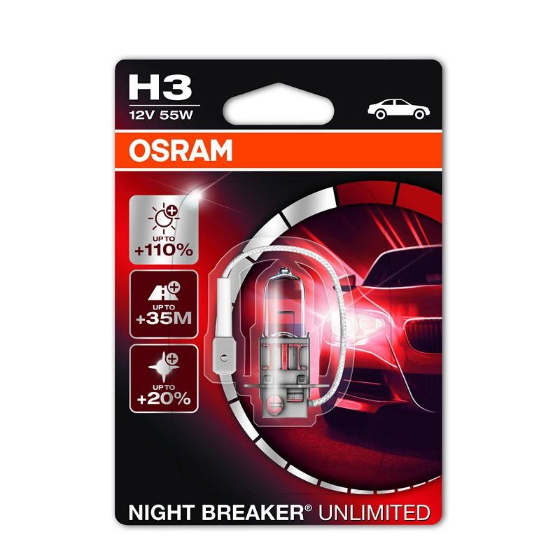 Night Breaker Unlimited +110% by OSRAM