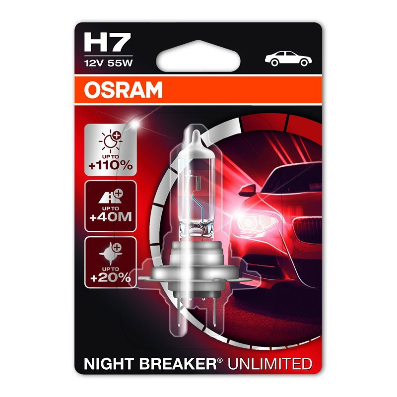 Night Breaker Unlimited +110% by OSRAM