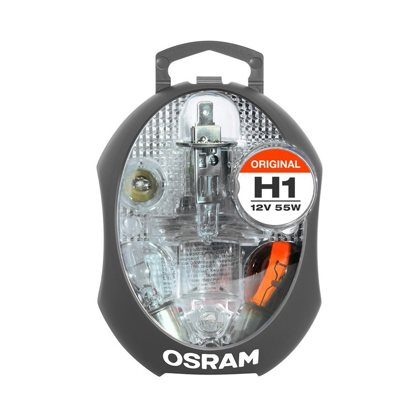 Spare lamps boxes for cars by OSRAM