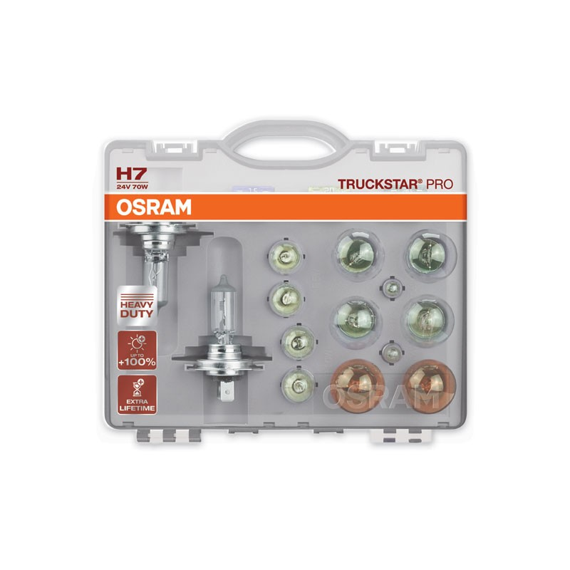 Spare lamps boxes for trucks by OSRAM