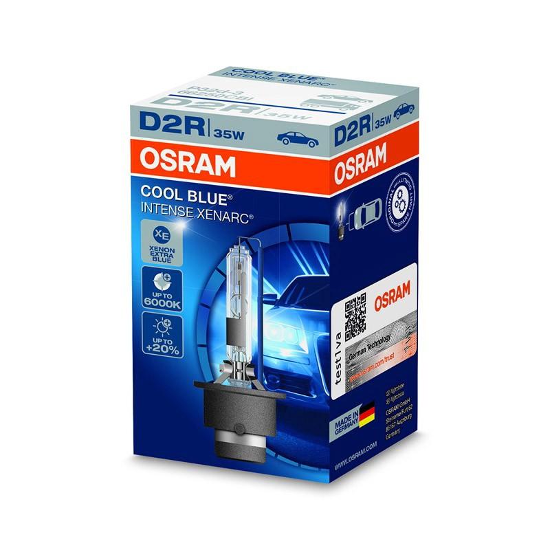 D2R Xenarc Cool Blue Intense +20% 66250CBI 35W P32D-3 4X1 FS1 by OSRAM