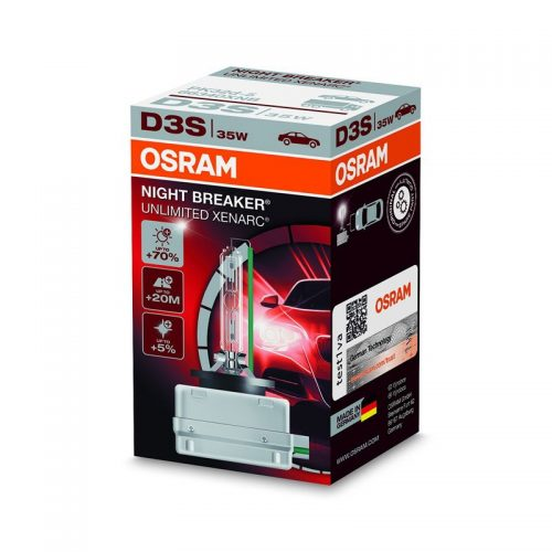 D3S Xenarc Night Breaker Unlimited +70% 66340XNB 35W PK32D-5 4X1  FS1 by OSRAM