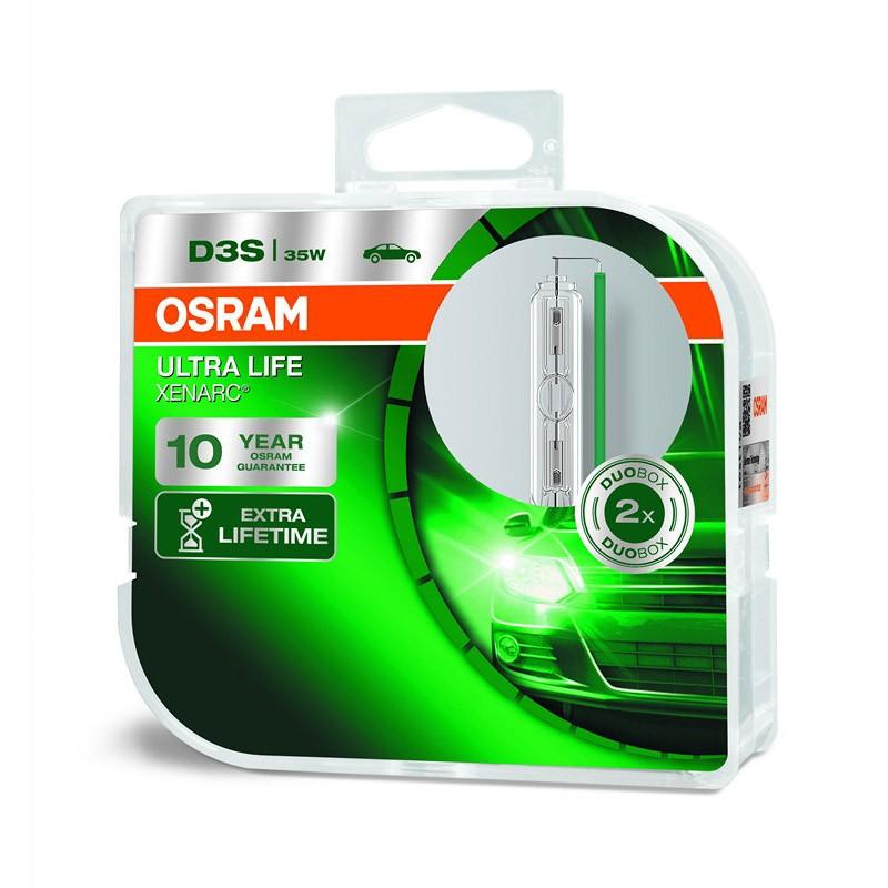 D3S Xenarc Ultra Life 66340ULT 35W PK32D-5 Duobox by OSRAM