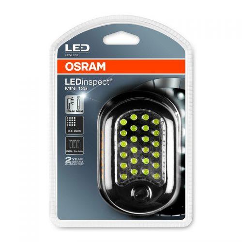 3x AAA  LEDinspect® MINI 125 by OSRAM