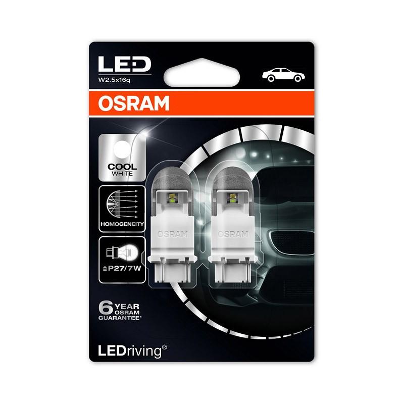 LED Retrofits Premium P27/7W (S8W DC)  3557CW-02B 2W 12V W2.5X16Q BLI2 by OSRAM