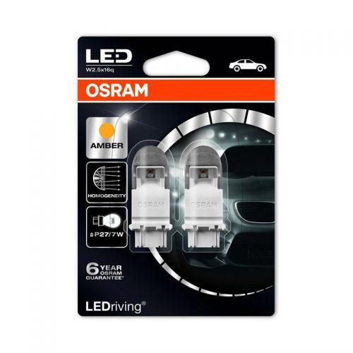 PY27/7W (S8W DC)  3557YE-02B 2W 12V W2.5X16Q BLI2 by OSRAM