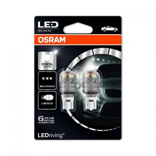 W16W (T16)  9213CW-02B 3W 12V W2.1X9.5D BLI2 by OSRAM