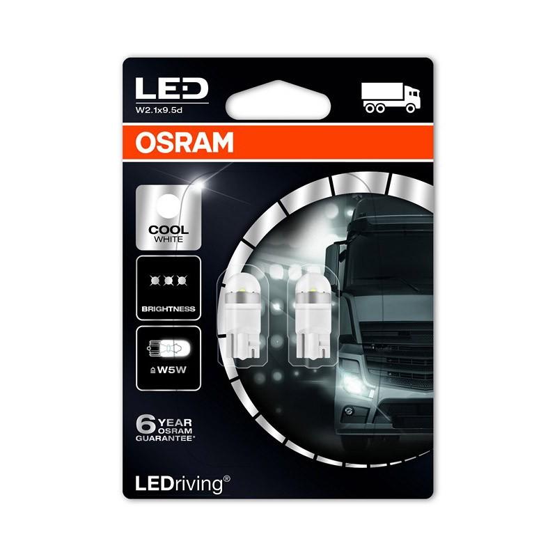 W5W  2824CW-02B 24V W5W 6.000K NEW! by OSRAM