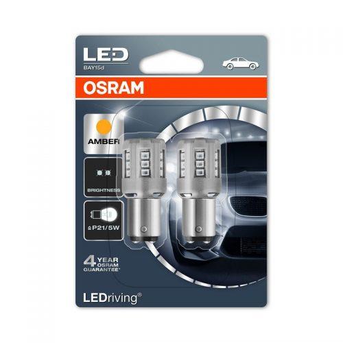P21/5W  1457YE-02B 1W 12V BAY15D BLI2 by OSRAM