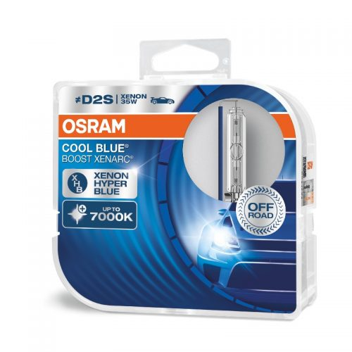 D2S - no ECE Xenarc Cool Blue Boost - NO ECE 66240CBB 35W P32D-2 HCB2BOX by OSRAM