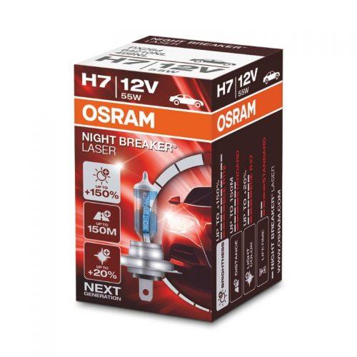 NIGHT BREAKER® LASER +150% by OSRAM