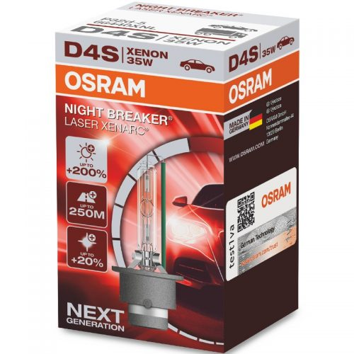 D4S XENARC® NIGHT BREAKER® LASER +200% 66440XNL 35W P32D-5 FS1 by OSRAM