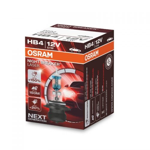 NIGHT BREAKER® LASER +150% by OSRAM